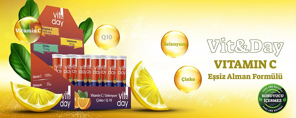 Vit&DAY Vitamin C Banner